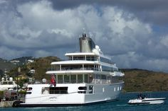 larry ellison on rising sun yacht | The Rising Sun yacht, designed by the late Jon Bannenberg, and built ...