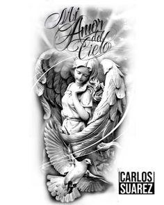Chicano Art Tattoos, Forarm Tattoos, Christ Tattoo, Jesus Tattoo, Tattoo Religion, Graffiti Tattoo, Religious Tattoo Sleeves, Arte Cholo, Cherub Tattoo