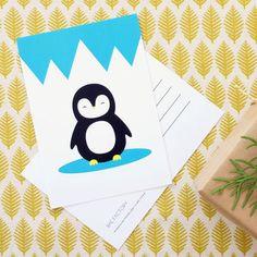 Pingviini - postikortti | Weecos