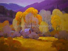oil, original 18X24 (Contemporary Painting, Oil, Landscape)