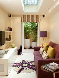 Small Living Rooms Design, Pictures, Remodel, Decor and Ideas - page 2  #smallspaces #sofas