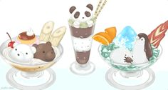 Parfaits - Shirokuma Cafe ep5