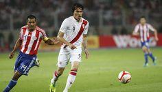 Perú - Eliminatorias 2014 - debut: 2-0 vs Paraguay (Estadio Nacional)