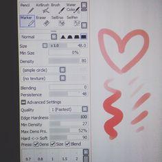 Sketch Painting, Painting Tools, Water Color Markers, Sai Brushes, Brush Markers, Paint Tool Sai, Digital Art Tutorial, Brush Set, Art Tutorials