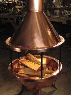 Building a Copper Chimnea : Outdoors : Home & Garden Television