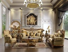 Fall in love which just one look at our Victorian design living room furniture. All our classic either keep the warm charm and appeal or have a modern twist to the design. There is no need to shop anywhere else, our collections are the best price in the market and we stand behind our products 100%