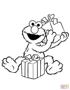 free sesame street coloring pages.html