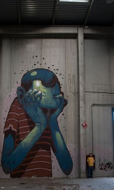 sick street art