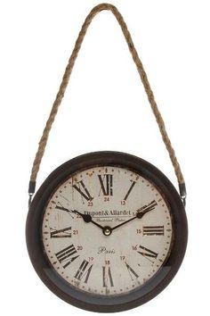 Ceas de Perete Dupont Metal 27x27 cm Dupont, Best Sellers, Clock, Watch, Clocks
