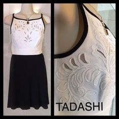 Tadashi Shoji Dresses & Skirts - TADASHI Black and White Cocktail Dress