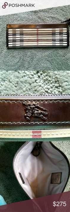 "Burberry clutch / wristlet Make Me An Offer! 💗 Burberry clutch / wristlet in great condition 12""x5"" Burberry Bags Clutches & Wristlets"