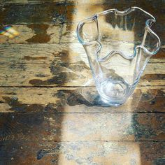 Whatever Wednesdays... Ghost vase handmade in Poland. #inspiration #studio1484 #artglass