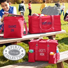 Are you busy running around to soccer practice and dance lessons? With our Spirit Collection, your little athletes can tote their gear in style while showing pride for their favorite team! ‪#‎kids‬ ‪#‎moms‬ ‪#‎practice‬ ‪#‎sports‬ ‪#‎team‬ ‪#‎athlete‬ www.mythirtyone.com/myshop