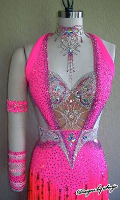 Ballroom Jewelry and Latin Dance Costume designed and created by Sonja Ballin. All Designs copyright ©2014, Sonja Ballin of Tampa Bay, Florida www.sonjadesigns.com Check us out  (and like) on Facebook:  https://www.facebook.com/pages/Designs-By-Sonja/220737151285770