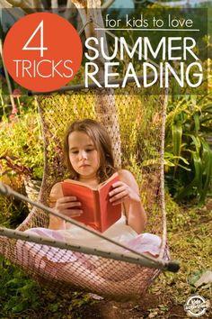 summer reading tricks