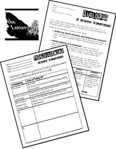 Dystopian Fiction: Poster & Worksheets for any Text