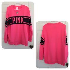 Victoria's Secret PINK long sweatshirt xs Brand new,❌NO TRADE‼️ PINK Victoria's Secret Tops Sweatshirts & Hoodies