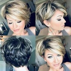 Long-Pixie-Hair Popular Short Layered Hair Source by armande ideas makeup Cute Hairstyles For Short Hair, Trendy Hairstyles, Curly Hair Styles, Layered Hairstyles, Short Haircuts, 40 Year Old Hair Styles, Pixie Bob Hairstyles, Haircut Short, Blonde Hairstyles