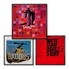 Saul Bass Collection of LP design.