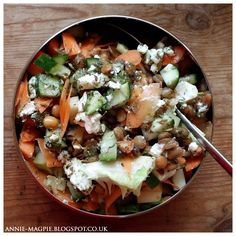 #food #salad #vegetarian #blog