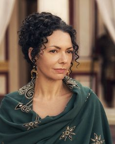 Joanne Whalley as Claudia Procula in A.D.: The Bible Continues