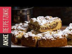 Μηλόπιτα από τον Άκη Πετρετζίκη. Νηστίσιμη και εύκολη συνταγή για τριφτή μηλόπιτα με τραγανή ζύμη και γέμιση με κομμάτια μήλου και ξηρούς καρπούς. Δοκιμάστε τη!