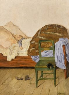Christian Krohg (Sleeping Child)
