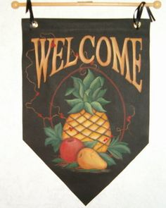 Tole Painting: A sign of Welcome