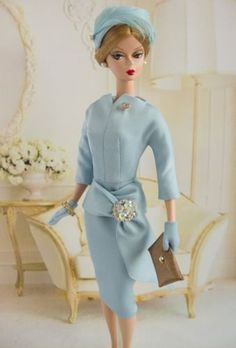 OOAK-outfit-made-for-Vintage-Silkstone-Barbie-by-D-B-Handmade-One-Of-A-Kind