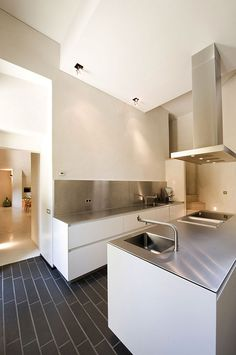 Modern sleek kitchen design