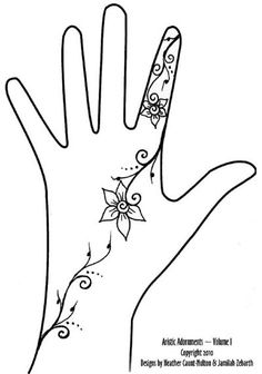 Simple Henna Tattoo Designs | Free Henna Patterns - Free Mehndi Designs - Henna Tattoo Drawings for ...