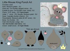 Alex's Creative Corner: Mouse King Punch Art Instructions