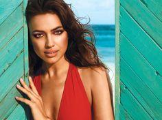 Be beautifully bare in nude #AvonMakeup like Irina Shayk, Avon's Global Beauty Ambassador