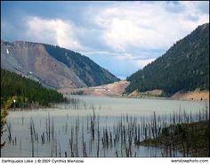 Earthquake Lake, Montana.
