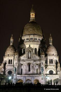 Good night, Paris - France.