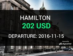Flight from Seattle to Hamilton by jetBlue #travel #ticket #flight #deals   BOOK NOW >>>