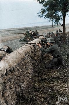 Anti-tank position.