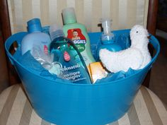 DIY Baby Shower Gift Basket Ideas 35