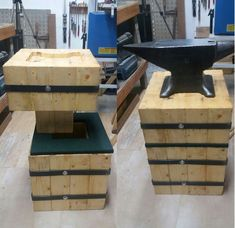 Picture of ANVIL STAND, HOW TO MAKE