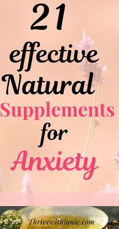 Anxiety can make life difficult and unmanageable. One way to calm anxiety is by supplementing with natural supplements. With the supervision of a medical professional, some supplements can ease anxiety so you can start enjoying your life. Here are some supplements have shown to work well for anxiety. #anxiety, #mentalhealth #happyhealthylife Improve Mental Health, Good Mental Health, Deal With Anxiety, Stress And Anxiety, Ways To Calm Anxiety, Natural Supplements For Anxiety, Understanding Anxiety, Healthy Mind, Health Tips
