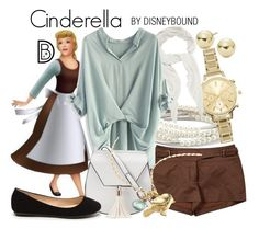 """Cinderella"" by leslieakay ❤ liked on Polyvore featuring Chrysalis, New Look, Lord & Taylor, BCBGMAXAZRIA, CÉLINE, Chicwish, Yoki, Alex Monroe, disney and disneybound"