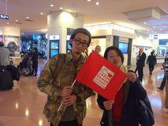 "The six ""Ramen Exchange Students"" In Haneda Airport! #ramen #japan #asean #SoutheastAsia #jnto #jed"