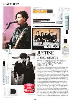 Britpop Justine Frischmann