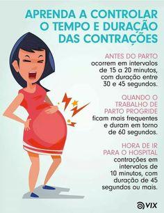 #Gravidez #gestação  ~ Contração ~