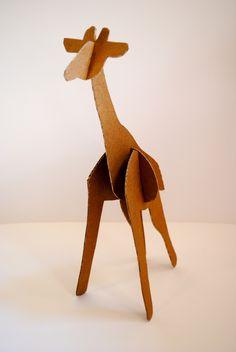 Animales de cartón « LA CARTONERIA Cardboard Animals, Wooden Animal Toys, Paper Mache Animals, Cardboard Box Crafts, Cardboard Sculpture, Paper Crafts, Cardboard Play, Vbs Crafts, Craft Stick Crafts