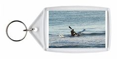 Solitude on the water Early morning surf ski paddler has it all to himself Keyring $9.99