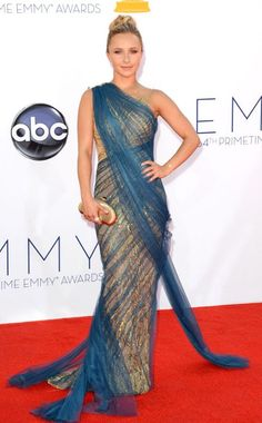 Hayden Panettiere in Marchesa at the 2012 Emmys ohh I was wondering who was going to wear this one