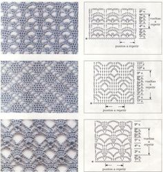 diamond crochet stitches