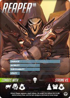 Overwatch - Reaper Hero Profile
