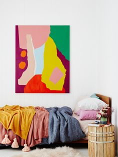 'It's Bright and Warm' artwork by Leah Bartholomew. Styling -Noël Coughlan. Photo – Annette O'Brien.